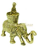 Слон латунный