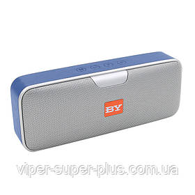 Портативная Блютуз колонка JAKCOMBER BY3040 СИНИЙ FM Повер Банк USB SD AUХ беспроводная Bluetooth колонка