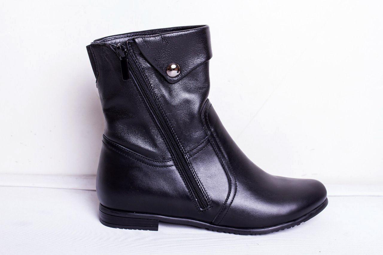 Ботинки из натуральной кожи №191-1