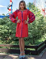 Скидки на Вишиванки жіночі льон в Украине. Сравнить цены fd495d5f64c12