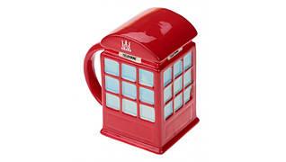 Присутствует деффект Кружка LONDON красная телефонная будка