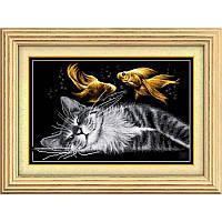Набор для рисования камнями алмазная живопись Dream Art Сладкий сон (квадратные, полная) 30070D