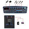 Аккумуляторная колонка с микрофонами Temeisheng  SL 15-01 / 400W (USB/Bluetooth/Пульт ДУ)реплика, фото 7