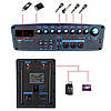 Акумуляторна колонка з мікрофонами Temeisheng SL 15-01 / 400W (USB/Bluetooth/Пульт ДУ)репліка, фото 7