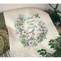 """Serenity Hummingbird Quilt"" Dimensions. Набор для вышивания одеяла (03232)"