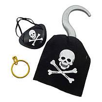 Набор Пирата с крюком 3 предмета