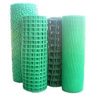 Садовая сетка, решетка У-13 (зеленая,черная)размер ячейки13*15) 2*100м