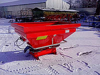 Розкидач иінеральних добрив 1000 кг Woprol., фото 1