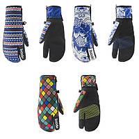 Перчатки горнолыжные, для сноуборда варежки Boodun, сенсорные