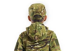 Кепка детская тактическая камуфляж MTP, фото 3