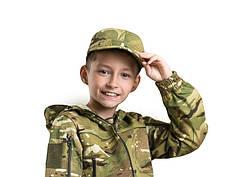 Кепка детская тактическая камуфляж MTP