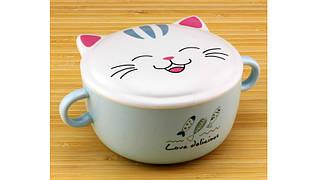 Тарелка супница большая Кошка, 4 вида