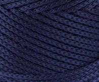 Трикотажный полиэфирный шнур PP Macrame,цвет синий