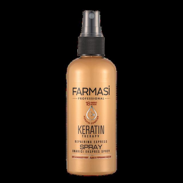 Спрей для волос с кератином Farmasi Keratin Therapy Repairing Express Spray