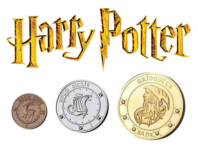 Набор монет Гарри Поттер Harry Potter