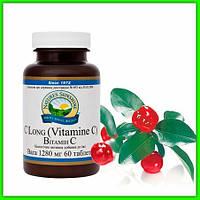 Витамин С НСП (Vitamin C Nsp (C Long) Профилактика болезней, энергия и защита организма, противовоспалительное