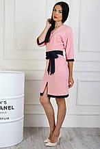 Шикарное платье полубатал из креп-дайвинга
