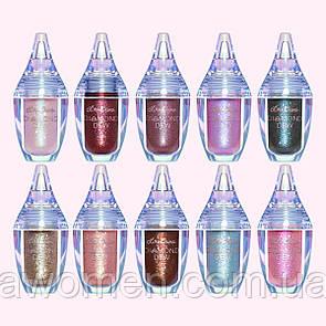 Набор жидких глитеров LIME CRIME Diamond Dew Liquid eyeshadow bundle