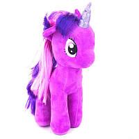 Мягкая игрушка Мой маленький Пони 18см - Сумеречная Искорка - супер подарок на Новый Год для девочки