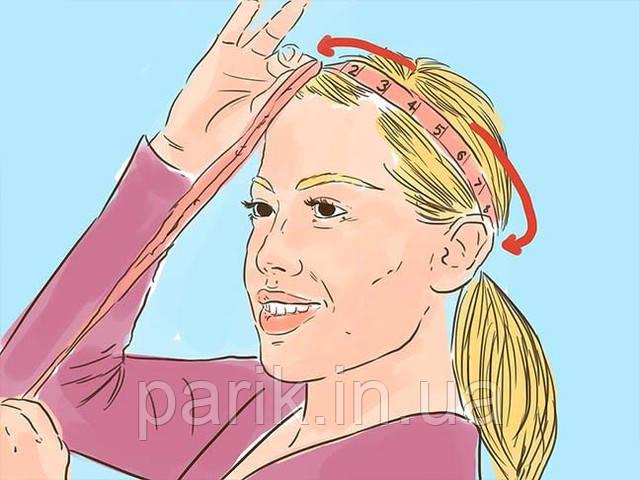 Измеряем окружность головы