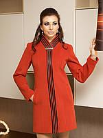 Демисезонное кашемировое женское пальто А-8, фото 1