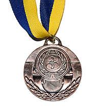 Медаль Спортивная маленькая бронза