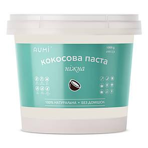 Кокосовая паста, 1 кг, всегда свежая, натуральная кокосовая манна, без добавок (кокосовое масло)