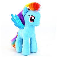 Мягкая игрушка Мой маленький Пони 18см - Радуга Дэш - супер подарок на Новый Год для девочки