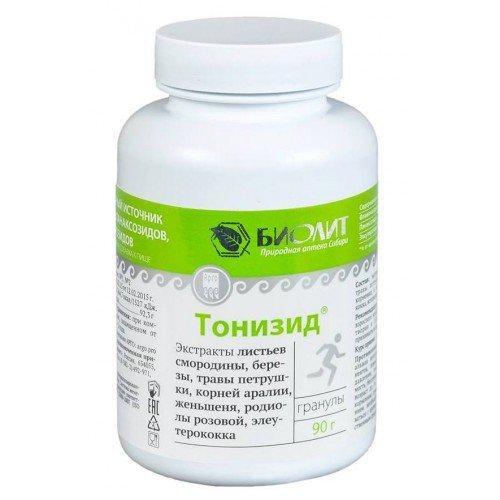 Тонизид (повышает работоспособность, защищает от стрессов)