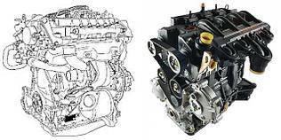Двигатель G9T 2.2dci + G9U 2.5dci