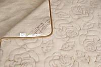 Одеяло открытая овечья шерсть вычесанная  Роза двуспальное Merkys, фото 1