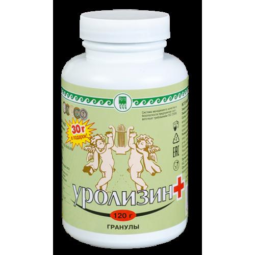 Уролизин (профилактика мочекаменной болезни и воспалительных заболеваний мочевыделительной системы)