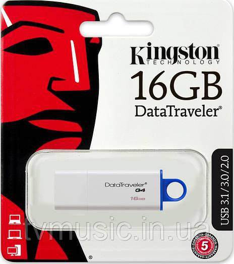 USB флешка Kingston DT I G4 16GB White (DTIG4/16GB)