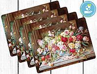 Набор сервировочных ковриков Цветы