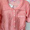 Набор детский для девочек 4-6 лет рубашка и лосины Пудра.  K:4848-2 Турция, фото 2