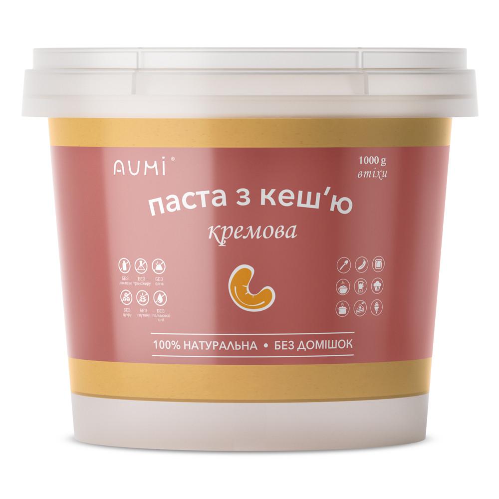 Кеш'ю паста кремова, 1кг, відро, натуральна без домішок
