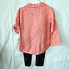 Набор детский для девочек 4-6 лет рубашка и лосины Пудра.  K:4848-2 Турция, фото 4