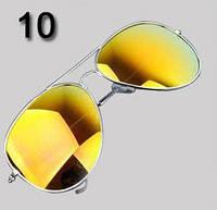 Очки № 10. Классический стиль - авиатор для мужчин и женщин.