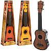 Гитара 0381-1-2-3, 40cм, струны 4шт, 3цвета, в кор-ке, 45-16-5см
