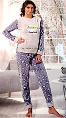 Уютные женские пижамы из флиса и махры