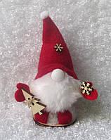 Новогоднее украшение Дед Мороз в колпаке