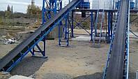 Ленточный конвейер подачи инертных_бетонний завод