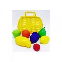 Сумочка с фруктами, 7предм 04-463 Киндервей