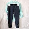 Набор детский для девочек 4-6 лет рубашка и лосины Мята. Турция, фото 3
