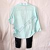 Набор детский для девочек 4-6 лет рубашка и лосины Мята. Турция, фото 4