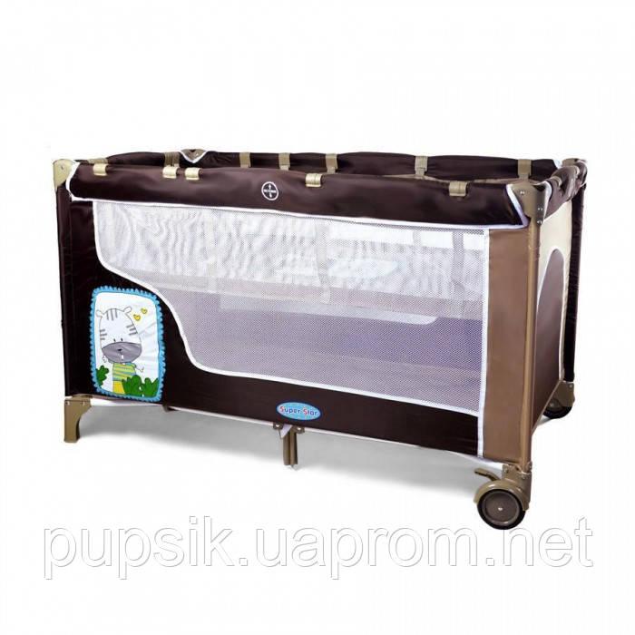Манеж-кровать TILLY BT-016-SLC KHAKI