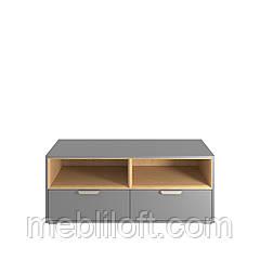 Шкафчик 2N2S  Арте / Arte Графит / дуб каменный