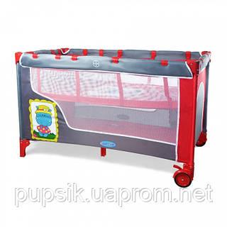 Манеж-кровать TILLY BT-016-SLC RED