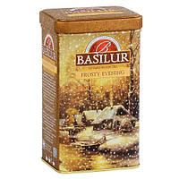 """Чай Basilur """"Морозний вечір"""" 100гр, ж/б"""