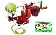 Яблокочистка Core Slice Peel, прибор для чистки и нарезки яблок